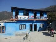 Fachada exterior del orfanato